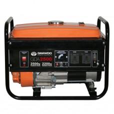 Бензиновий генератор Daewoo Power GDA 2500