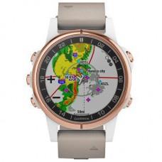 Смарт-годинник Garmin D2 Delta S Aviator Watch with Beige Leather Band (010-01987-30)
