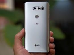 LG V30 прошёл знаменитое испытание на прочность